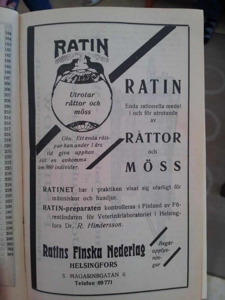 ratin råttgift reklam annons