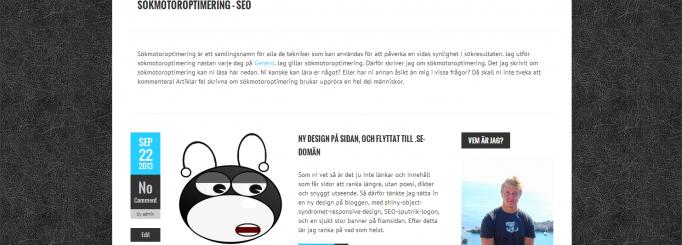 Responsive Boldr-WordPress templatet sökmotoroptimerat