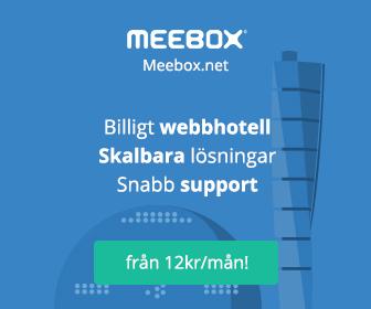 meebox webbhotell wordpress