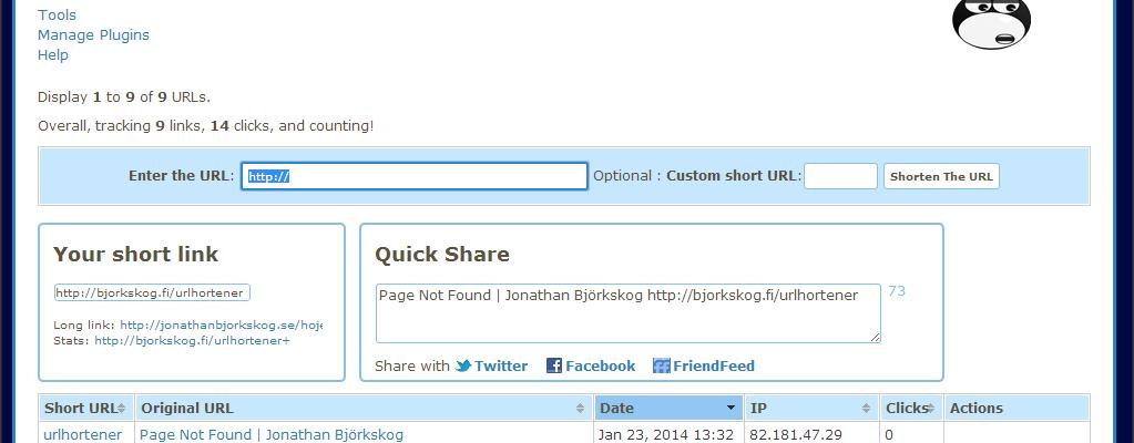 Höjer en egen URL-shortener click-through-raten från Sociala medier?