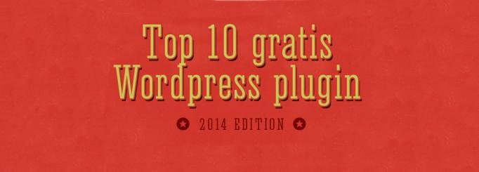 Top 10 gratis WordPress plugin
