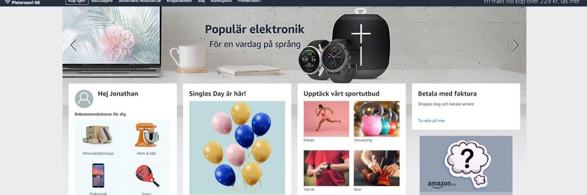 Amazon lanserar i Sverige – Så här påverkas Google organiska och betalda trafiken på svenska